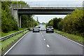 SJ0174 : North Wales Expressway, Bridge at Junction 26 by David Dixon
