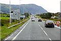 SH7478 : North Wales Expressway West of Penmaenbach by David Dixon