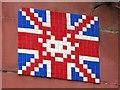 NZ2464 : Ceramic tile public artwork, Pink Lane, NE1 by Mike Quinn