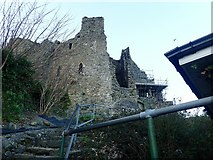 J1811 : Ascending the stairway from the Carlingford Harbour to King John's Castle by Eric Jones