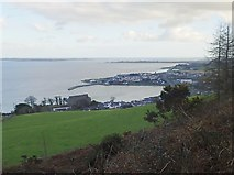 J1811 : Carlingford Harbour from the Carlingford Loops by Eric Jones