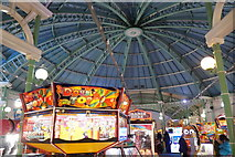 TQ3103 : Inside the arcade on Palace Pier, Brighton by Mike Pennington