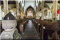 SK8608 : Interior, All Saints' church, Oakham by J.Hannan