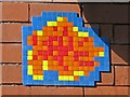 NZ2464 : Ceramic tile public artwork, Stowell Street / Friars Street, NE1 by Mike Quinn