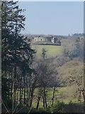 SX1061 : Restormel Castle from woods above Restormel by Rob Farrow