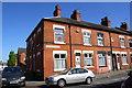 SK6003 : Houses at Kings Newton Street / Earl Howe Street junction by Roger Templeman