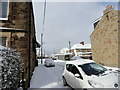NZ1051 : Balfour Street in the snow by Robert Graham