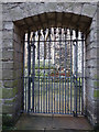 SE6051 : St Martin le Grand, York - courtyard entrance by Stephen Craven