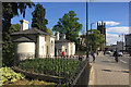 SP3165 : Jephson Gardens lodges and the Parade, Royal Leamington Spa by Robin Stott