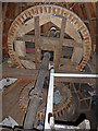 TL4574 : Great Mill, Haddenham - brake wheel and wallower by Chris Allen