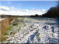 H4174 : Frosty fields, Mullagharn by Kenneth  Allen