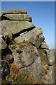 SK2682 : Burbage Rocks by Malcolm Neal