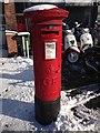 TQ1975 : Georgian Postbox on Upper Richmond Road by Bori Kiss