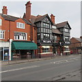 SJ3068 : Jewellers and a pub, Chester Road West, Shotton by Jaggery