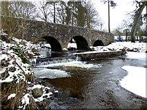 H4772 : Cranny footbridge, Ballinamullan Burn by Kenneth  Allen
