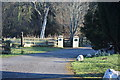 SN2551 : Gate from drive to public footpath by M J Roscoe