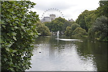 TQ2979 : Lake, St James's Park by N Chadwick
