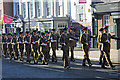 SJ4066 : Mercian Regiment Freedom Parade in Chester by Jeff Buck
