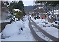 NT2440 : Snow in Caledonian Road, Peebles by Jim Barton