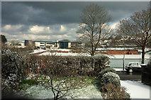 SX9065 : Snow in Torquay by Derek Harper