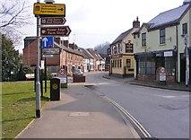 SO8483 : Village Street by Gordon Griffiths