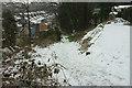 SX9065 : Path down Stantaway Hill in the snow by Derek Harper