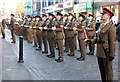 SJ4066 : Mercian Regiment Freedom Parade, Chester by Jeff Buck