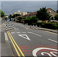 ST1874 : Adelaide Street traffic calming, Cardiff by Jaggery