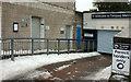 SX9163 : Toilets closed, Torquay Marina Car park by Derek Harper