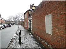 TG2312 : Memorial in Church Street, Old Catton by Adrian S Pye