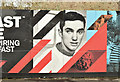 J3574 : George Best picture, Belfast (March 2018) by Albert Bridge