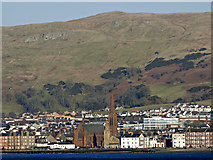 NS2059 : Largs from the Cumbrae ferry by Thomas Nugent