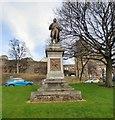NS7993 : Statue of Robert Burns by Gerald England