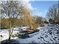 TQ4577 : Rockciffe Gardens in the snow by Marathon