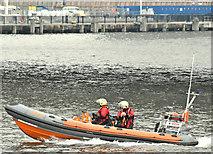 "J3474 : Lagan Rescue boat ""Dove"", Belfast (March 2018) by Albert Bridge"