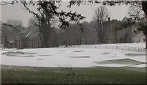 SX9063 : Pitch and putt in the snow, Torquay by Derek Harper
