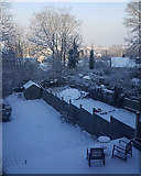 TQ3370 : Snow at last in South London, 28 February 2018 by Philippa Riley
