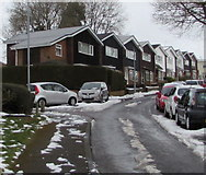 ST3096 : Chepstow Rise houses, Croesyceiliog, Cwmbran by Jaggery
