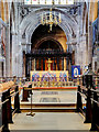 SJ8398 : Manchester Cathedral Sanctuary by David Dixon