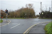 SX9886 : Station Rd, Exmouth Rd Junction by N Chadwick