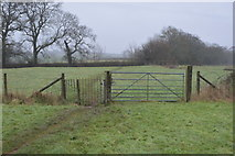 SX9886 : Gate on the footpath by N Chadwick