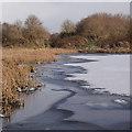 NH6546 : Icy pool, Merkinch by Craig Wallace