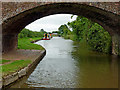 SK1410 : Canal east of Streethay in Staffordshire by Roger  Kidd