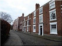 SJ4066 : Town houses on Abbey Street by Eirian Evans