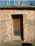 ST0207 : Cullompton: door in wall by Martin Bodman