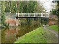 SK3927 : Trent and Mersey Canal, Bridge 10 at Weston Cliff by Alan Murray-Rust
