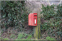 TA0912 : Postbox in Croxton by Ian S