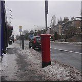 NT2671 : Postbox, Minto Street by Richard Webb