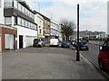 TR3140 : Lampposts, Snargate Street by John Baker