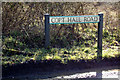TL1319 : Copt Hall Road sign by Adrian Cable